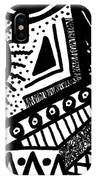 Black And White 15 IPhone X Case