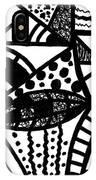 Black And White 16 IPhone X Case