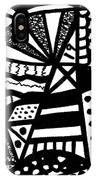 Black And White 19 IPhone X Case
