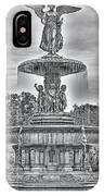 Bedesta Statue Black And White  IPhone Case