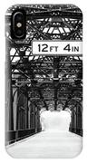 Black And White Bridge IPhone Case