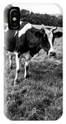 Black And White Cow IPhone Case