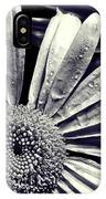 Black And White Daisy  IPhone Case