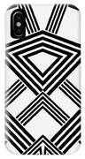 Black And White Diamond IPhone Case