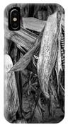 Black And White Ear Of Corn On The Stalk IPhone Case