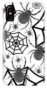 Black And White Halloween IPhone Case