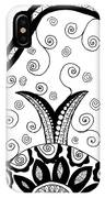 Black And White Life IPhone Case