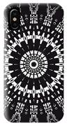 Black And White Mandala No. 1 IPhone Case
