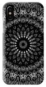 Black And White Mandala No. 2 IPhone Case