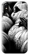 Black And White Pumpkins IPhone Case