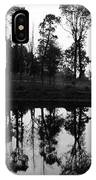 Black And White Reflected IPhone Case