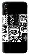 Black And White Southwest Sampler IPhone Case