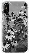 Black And White Susans IPhone Case