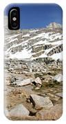 Black Bear Lake Camp - Sierra IPhone Case