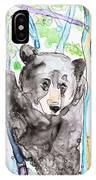 Black Bear On The Bruce IPhone Case