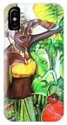 Black Beauty004 IPhone Case