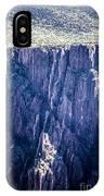 Black Canyon In Colorado IPhone Case