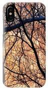 Black Cotton IPhone Case