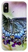 Black Eastern Swallowtail IPhone Case