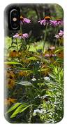 The Field Of Flowers  IPhone Case