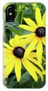 Black Eyed Susans- Fine Art Photograph By Linda Woods IPhone Case