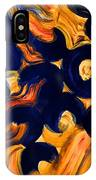 Black Fire IPhone Case