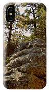 Black Hills Boulders IPhone Case