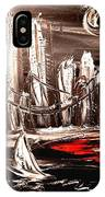 Black Manhattan IPhone Case