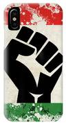 Black Power Flag IPhone Case