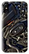 Black Sportster IPhone Case