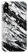 Black White Modern Art IPhone X Case