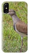 Black-winged Plover IPhone Case
