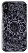 Black Zen 2 IPhone Case