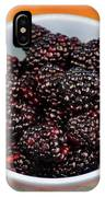 Blackberries 134 IPhone Case