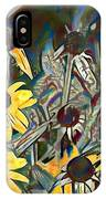 Blackeyed Susans Watercolor IPhone Case