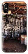 Blacksmith Shop By Kaye Menner IPhone Case
