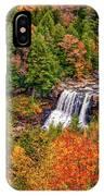 Blackwater Falls Wv IPhone Case