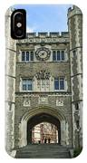 Blair Hall Princeton IPhone Case