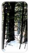 Blanketed In Snow IPhone Case