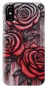 Bleeding Roses IPhone Case