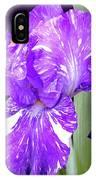 Blended Beauty - Bearded Iris IPhone Case