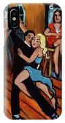 Bleu Tango IPhone Case