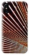 Blind Shadows Abstract I I IPhone Case