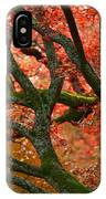 Blood Red Autumn Tree IPhone Case