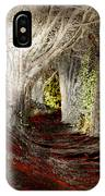 Blood Redwoods IPhone Case