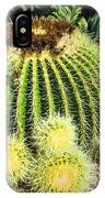 Blooming Cactus Two IPhone Case