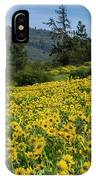 Blooming Fence IPhone Case