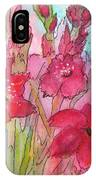 Blooming Glads IPhone Case