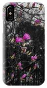 Blooming In The Rain IPhone Case