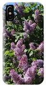 Blooming Lilacs IPhone Case